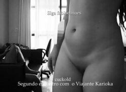 Video Paola Oliveira peladinha depois do sexo na sacada do prédio em copacabana