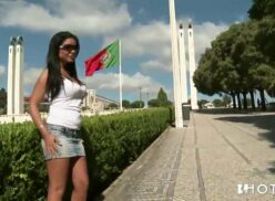 Sexo portuguesa moreninha safada dando aquela maravilhosa trepada