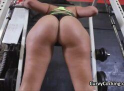 Video de sexo forte dentro da academia