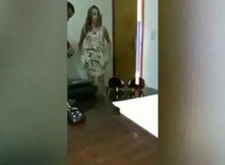 Mulher transando escondido com patrão caiu na net