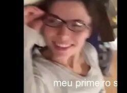Brasileira amadora deu cuzinho e achou que não ia doer