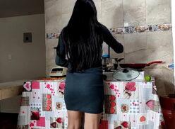 Video de sexo com cunhada safada na cozinha